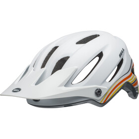 Bell 4Forty MIPS Casque, rush matte/gloss white/orange